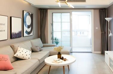 现代简约-怡景家园-两室一厅-85平米