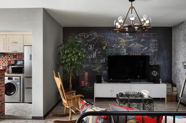 现代简约-威尼斯水城-两室两厅-90平米