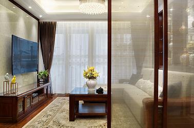 新中式-紫金华府-两室两厅-98平米
