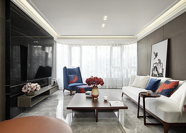 現代簡約-金陵御庭園-三室兩廳-150平米