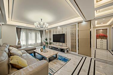 简欧-兰亭苑 -四室两厅-140平米