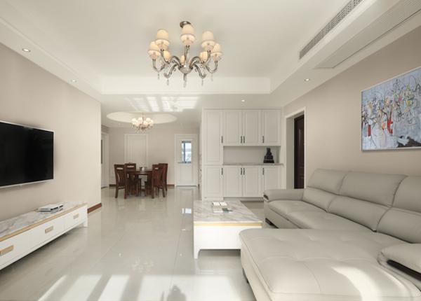现代简约-骋望云邸-三室两厅-137平米