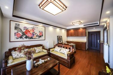 新中式-招商依云尚城-两室两厅-86平米