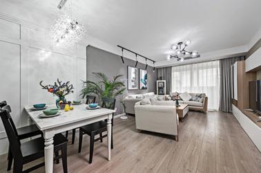 现代简约-永恒家园-两室两厅-95平米