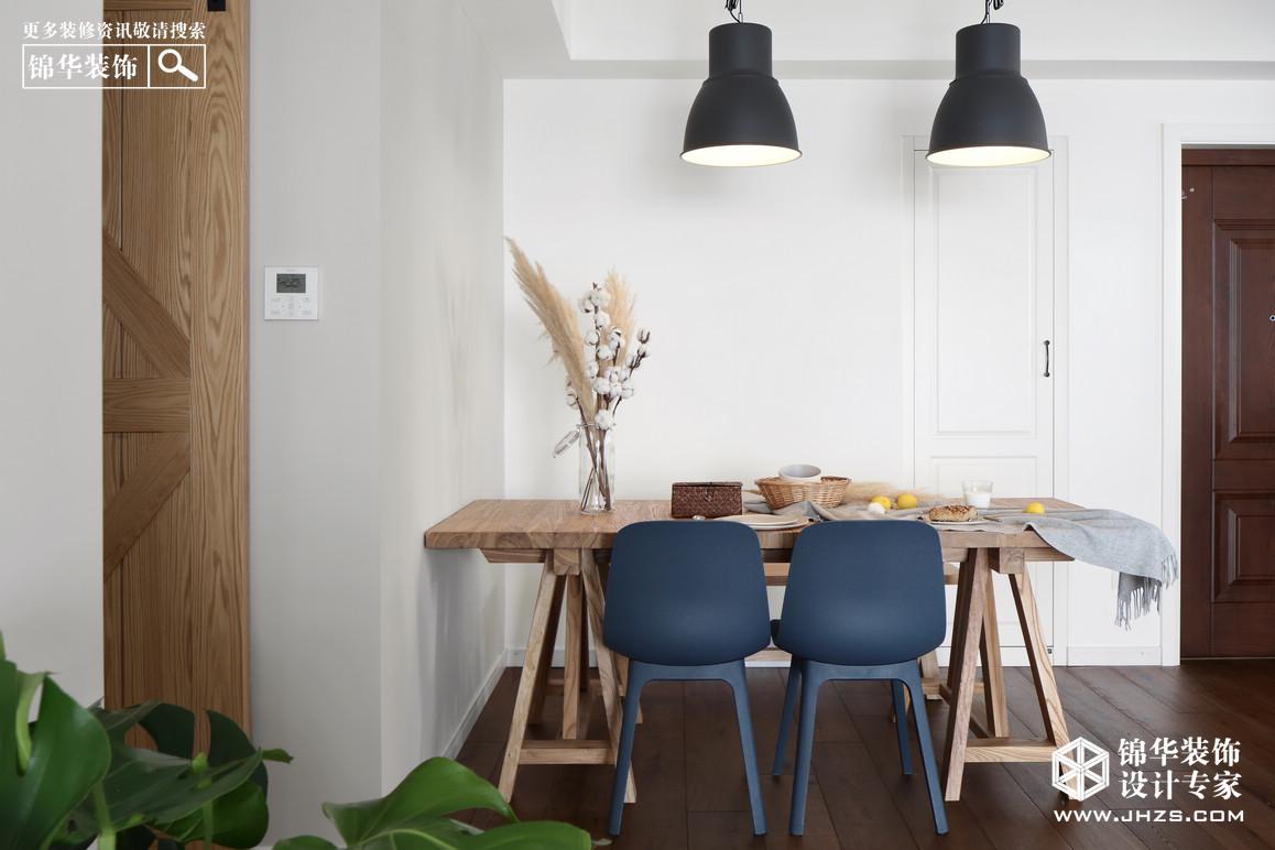 北欧-金地湖城艺境-三室两厅-136平米装修-三室两厅-北欧