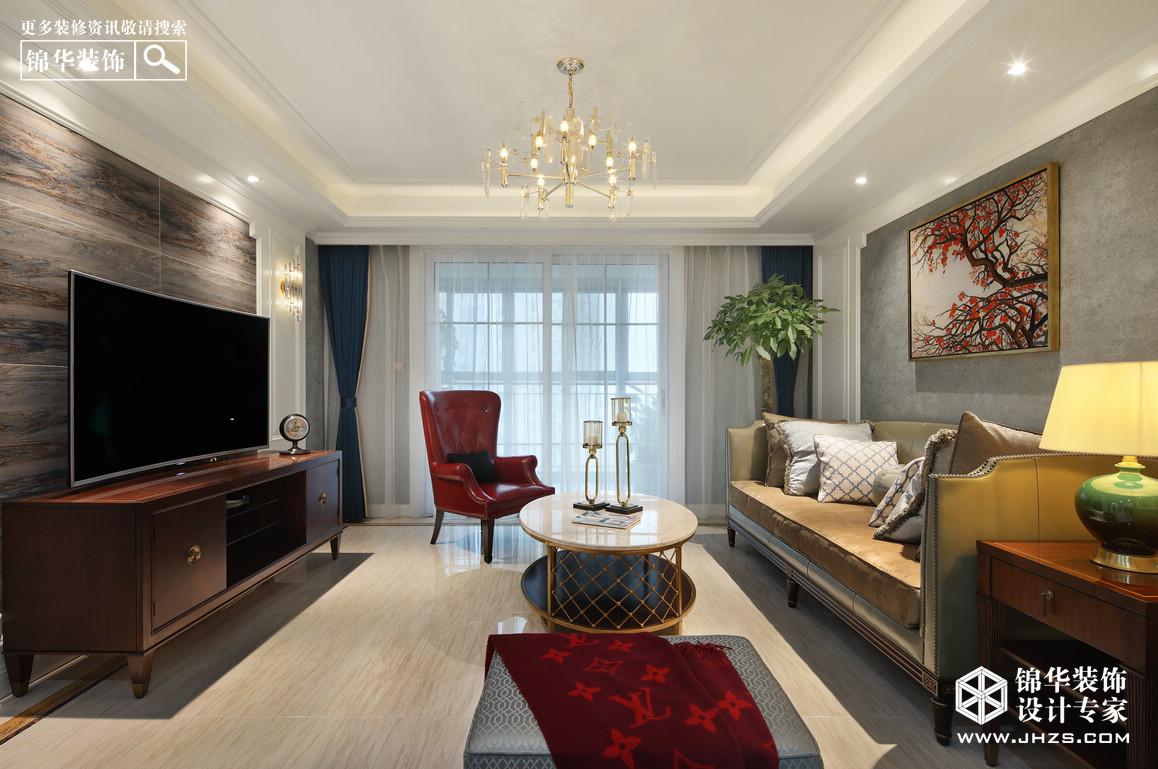 简欧-中海万锦熙岸-两室两厅-125平米装修-两室两厅-简欧