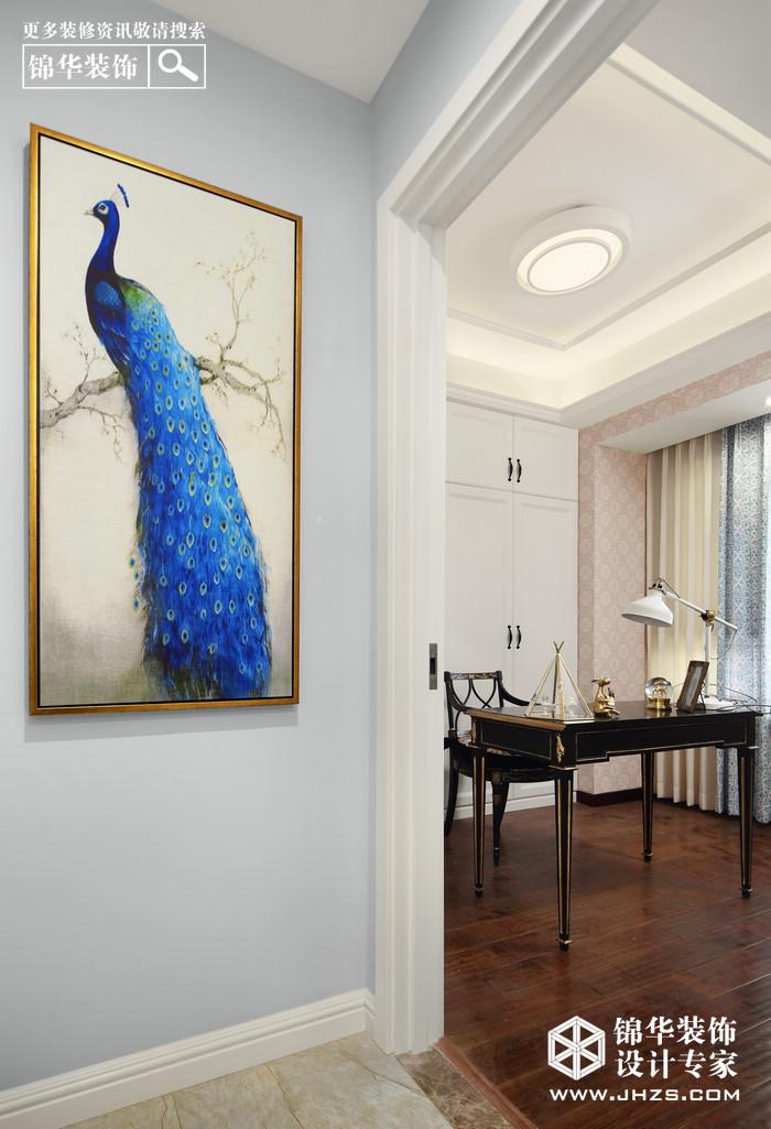 简欧-复地晏南都-两室两厅-98平米装修-两室两厅-简欧