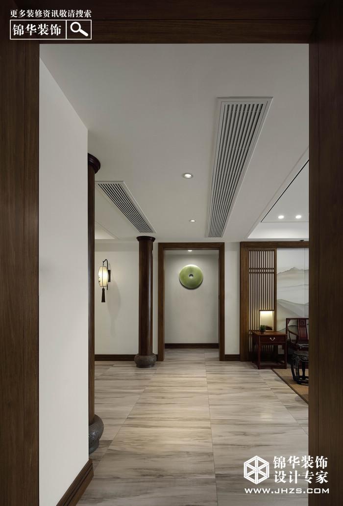 新中式-雅居乐滨江国际-四室两厅-195平米装修-四室两厅-新中式