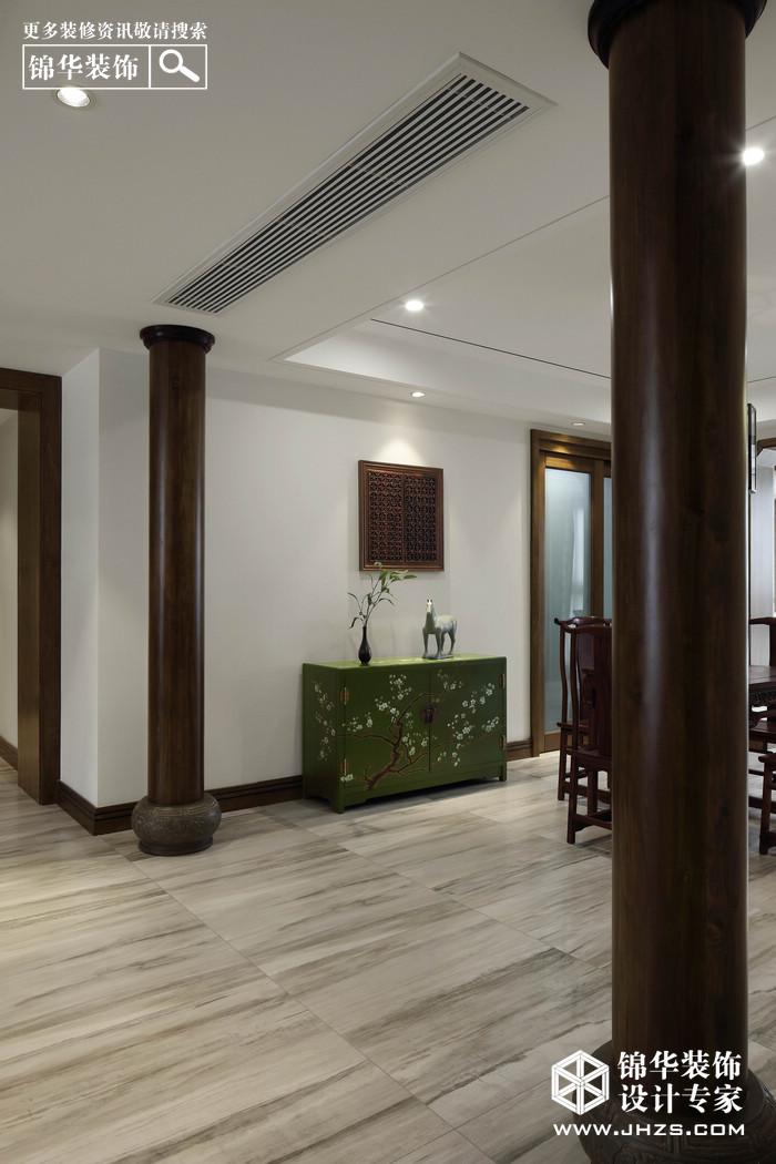 庐林·融-雅居乐滨江国际装修-四室两厅-新中式