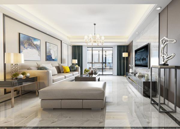 现代简约-中航金城1号-三室两厅-110平米