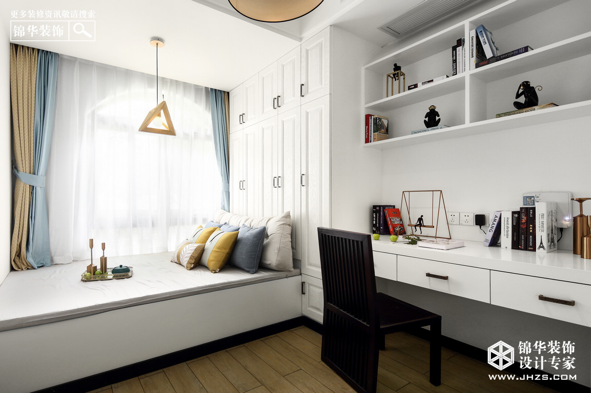 谧·悦-良辰美景装修-三室两厅-新中式