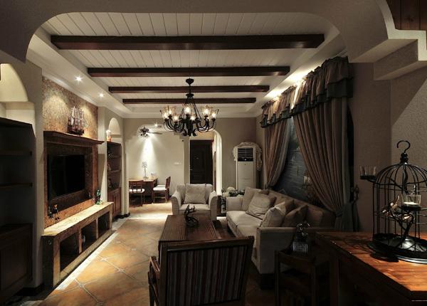欧式古典-橡树湾-三室两厅-140平米