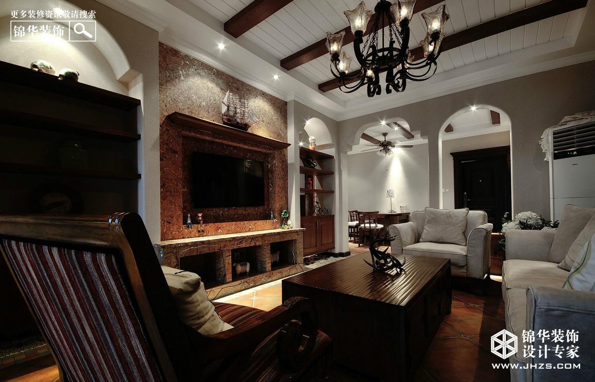 橡树湾装修-三室两厅-欧式古典