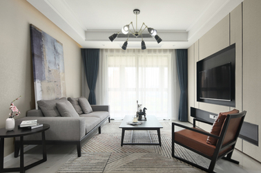 现代简约-正荣润锦城-三室一厅-105平米