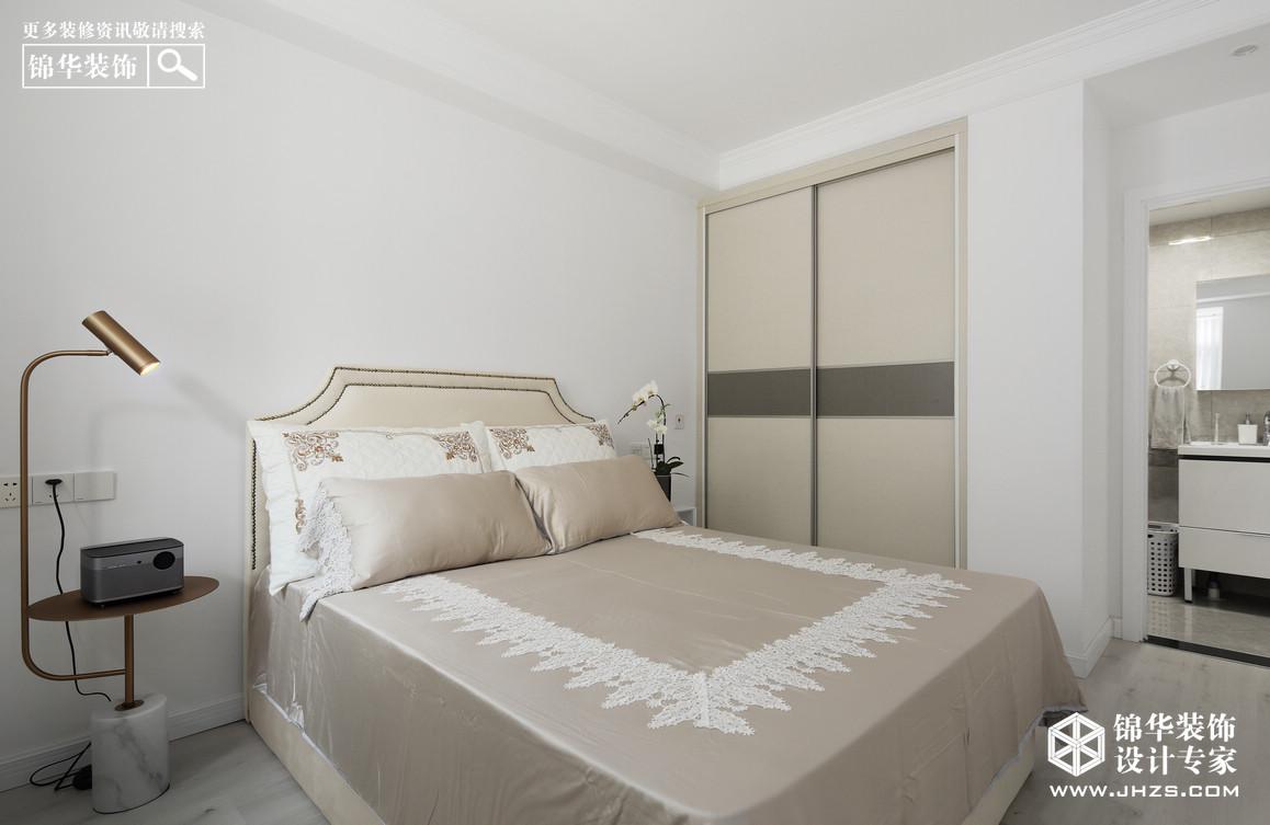 净·色-世茂招商语山装修-两室两厅-现代简约