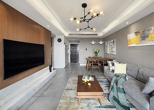 北欧-银亿东城--三室两厅-100平米