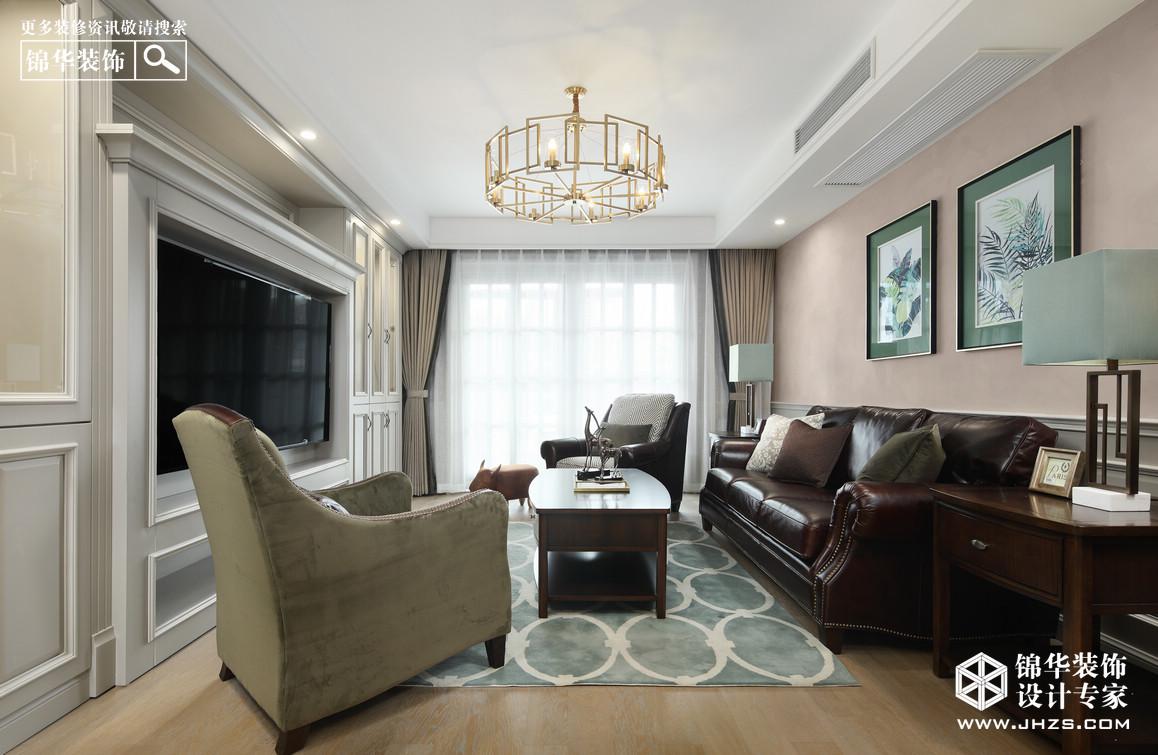 简美-国信阅景龙华-三室两厅-140平米装修-三室两厅-简美