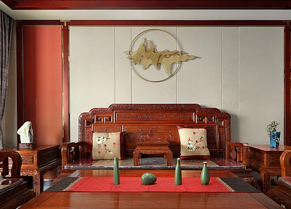 新中式-金浦御龍灣-三室兩廳-140平米