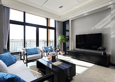 新中式-雅居乐滨江花园-四室两厅-228平米