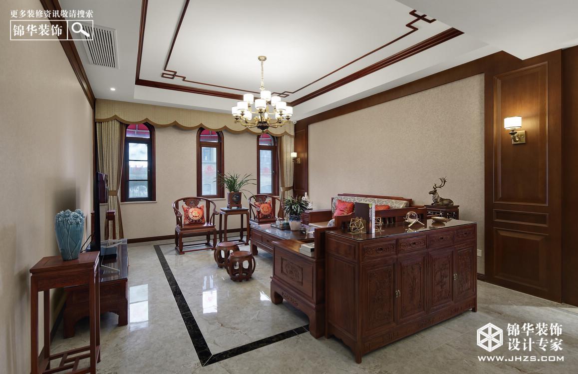 新中式-仙林翠谷-别墅-190平米装修-别墅-新中式