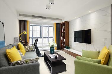 现代简约-东宝花园-两室两厅-92平米