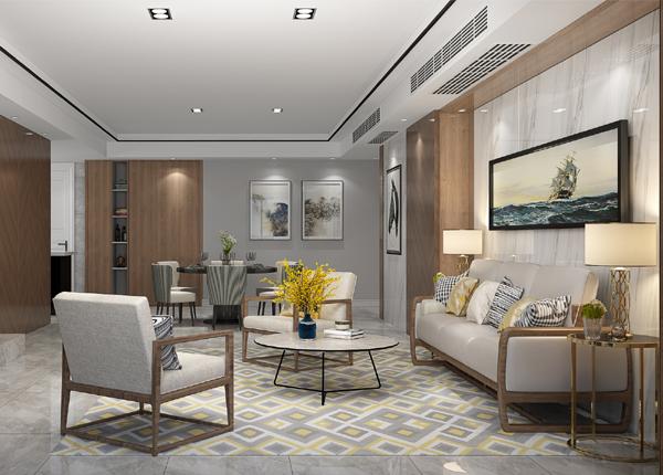 现代简约-金陵湾-四室两厅-260平米