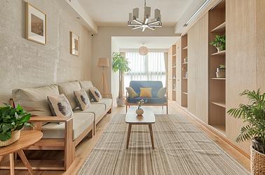 日式-金陵湾-两室两厅-90平米