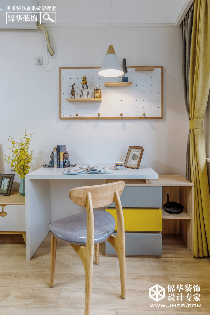 现代简约-尚书云邸-两室两厅-88平米装修-两室两厅-现代简约