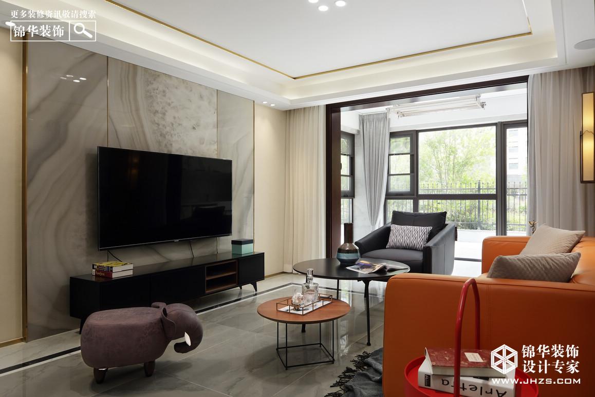 新中式-雍福龙庭-三室两厅-117平米ope体育专业-三室两厅-新中式