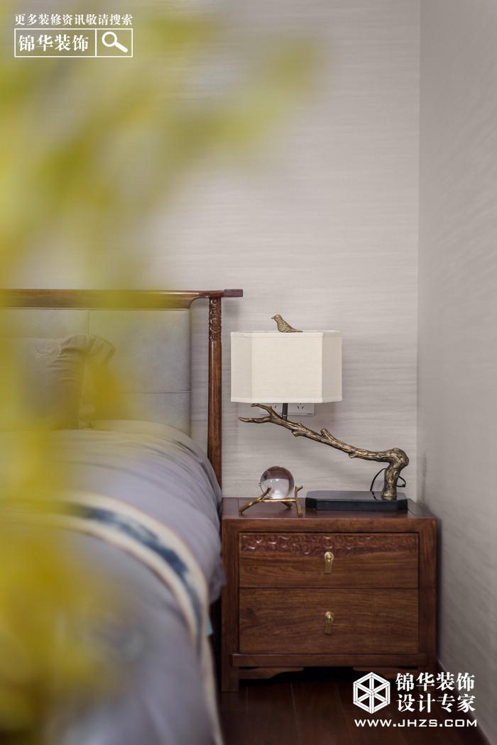 明月天珑湾装修-三室两厅-新中式