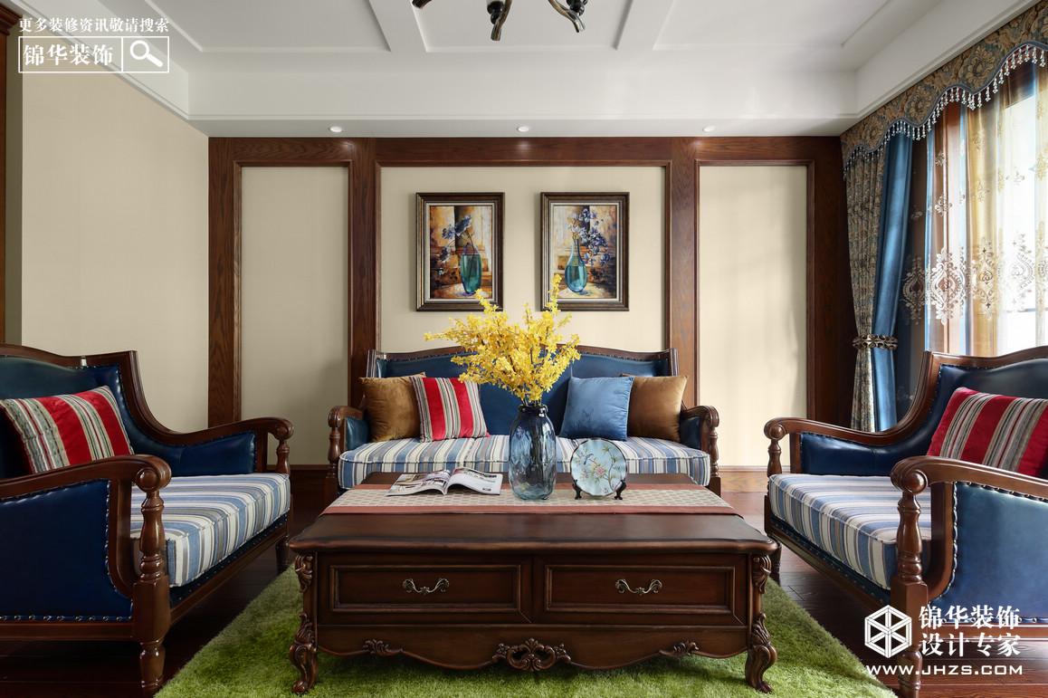 简美-阅景龙华-三室两厅-138平米装修-三室两厅-简美