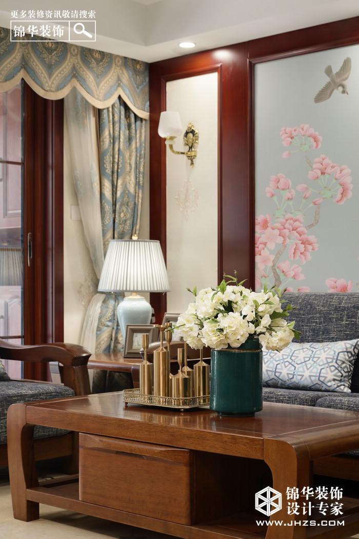 新中式-尚书云邸-三室两厅-130平米装修-三室两厅-新中式