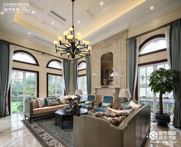 南京美式风格别墅装修软装应该如何搭配?