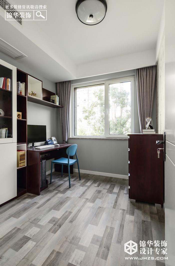 时光的沙漏-白马澜山装修-两室两厅-现代简约