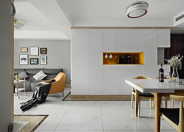 现代简约-高科荣境-三室两厅-95平米