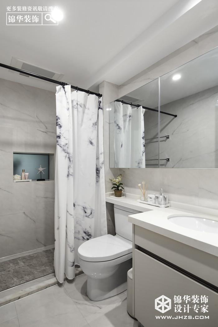 混搭-中海塞纳丽舍-三室两厅-137平米装修-三室两厅-混搭
