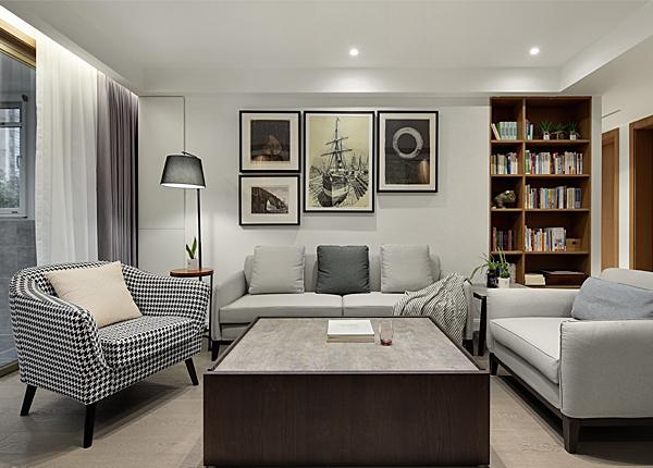 现代简约-王府国际花园-四室两厅-150平米