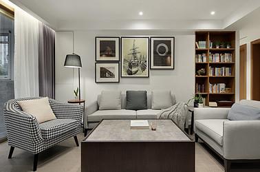 現代簡約-王府國際花園-四室兩廳-150平米