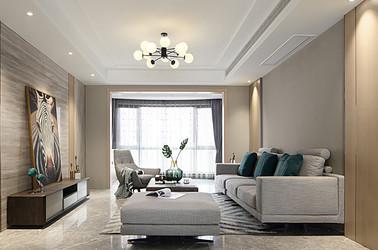 現代簡約-雅居樂濱江國際-四室兩廳-178平米