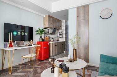 现代简约-百家湖国际公寓-小户型-60平米