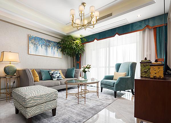 简美-正荣润锦城--三室两厅--105平米