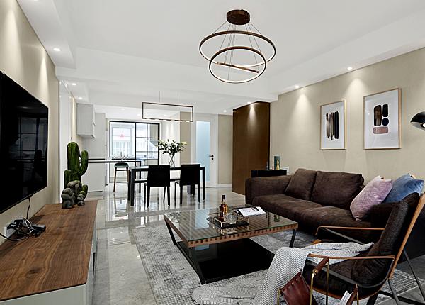南京九華山18-1號-125平米三室兩廳-現代簡約