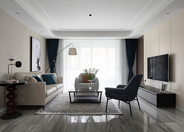 現代簡約-中海御山府-三室兩廳-138平米