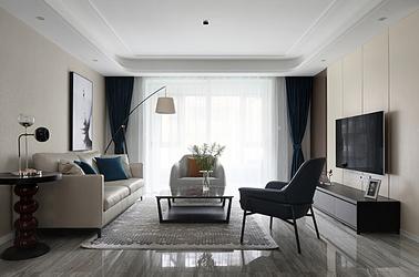 现代简约-中海御山府-三室两厅-138平米