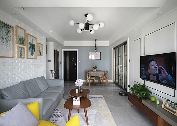 北欧-世茂荣里-两室一厅-89平米