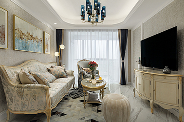 北欧-保利西江月-三室两厅-90平米