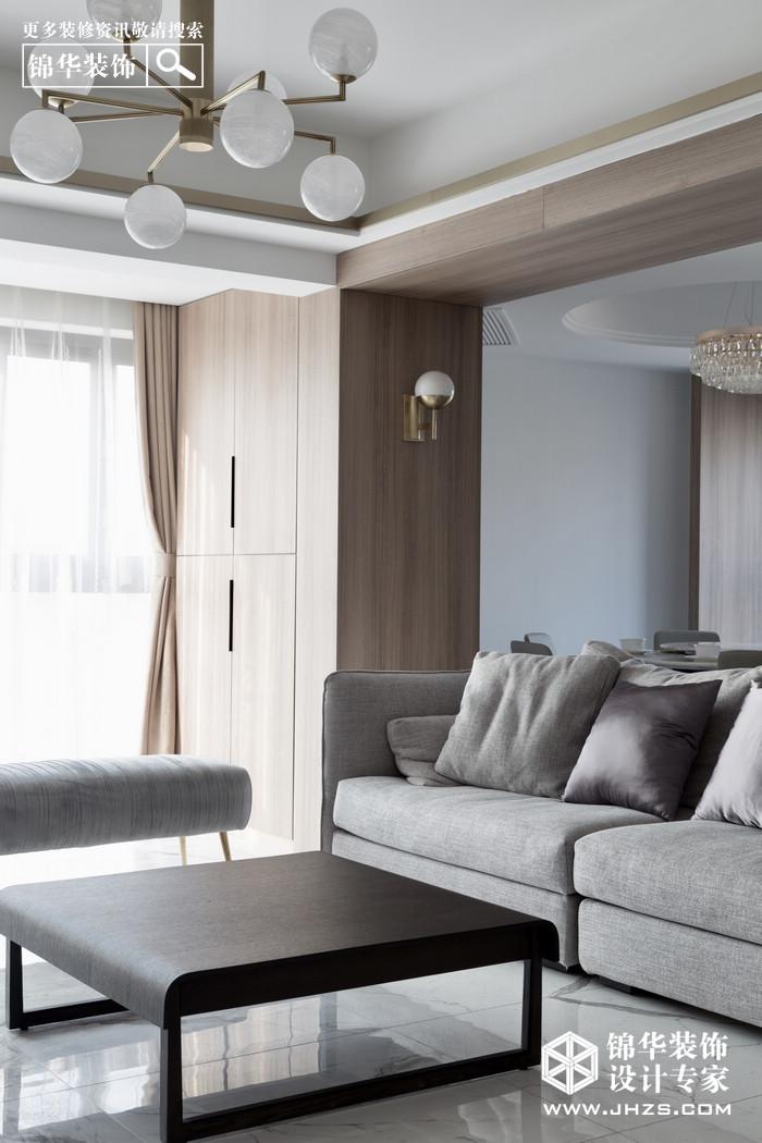 现代简约-武夷名仕园-两室两厅-124平米装修-两室两厅-现代简约