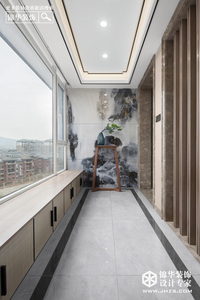 隐山别院-华府国际装修-跃层复式-新中式