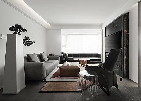 現代簡約-紫金華府-三室兩廳-108平米