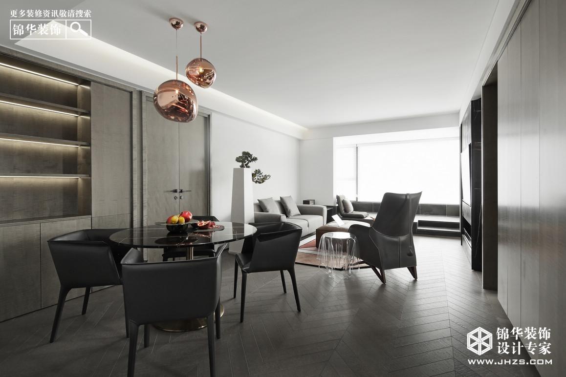 现代简约-紫金华府-三室两厅-108平米装修-三室两厅-现代简约